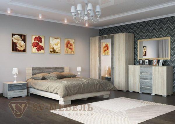 """Спальня """"Лагуна 2"""""""