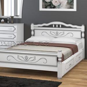 """Кровать """"Карина-5"""" с ящиками"""