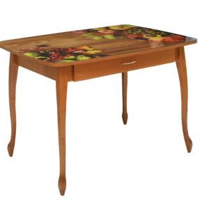 Кухонный стол №25ФП с ящиком