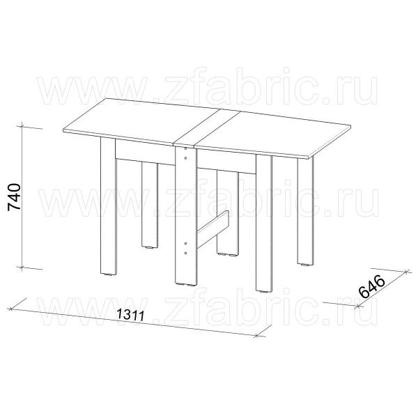 Стол-книжка СТК-11